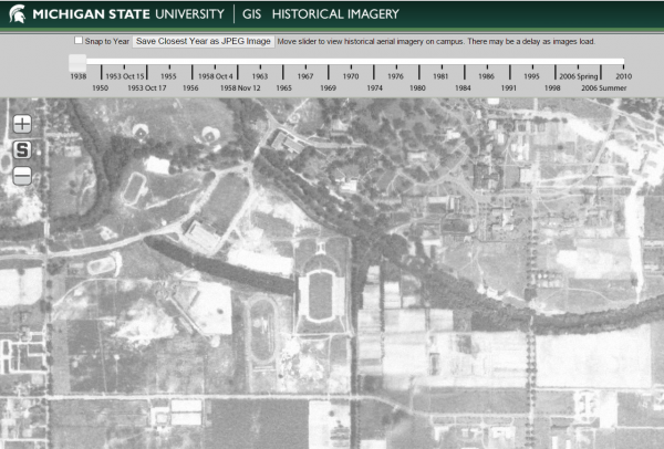 Michigan State University GIS Historical Imagery