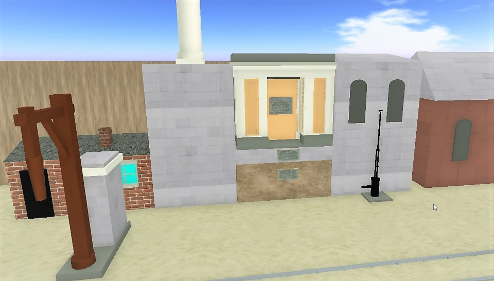 OpenSim build of Parkside Huskisson memorial.jpg