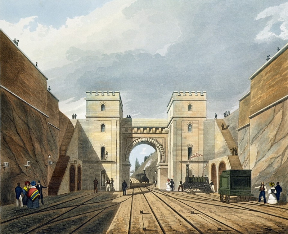 Moorish_Arch_looking_from_the_Tunnel,_from_Bury's_Liverpool_and_Manchester_Railway,_1831_-_artfinder_122454.jpg