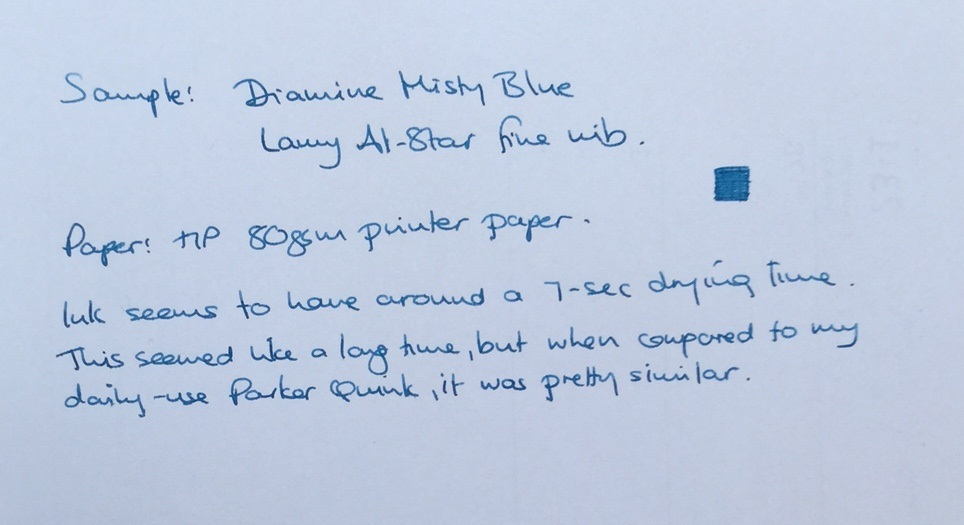 Diamine Misty Blue