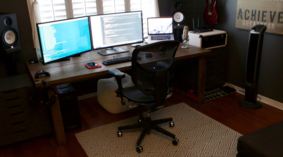 A Clean, Decent Working Space