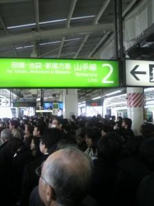 山の手線 Yamanote Line (Platform Full)