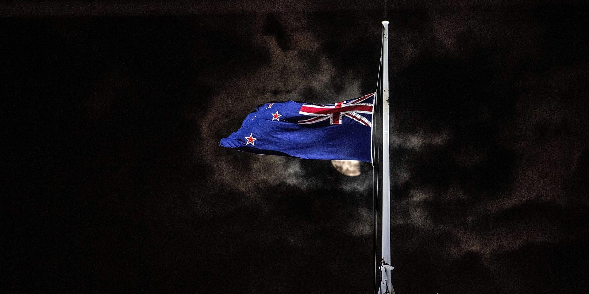 New Zealand Flag at Half-Mast