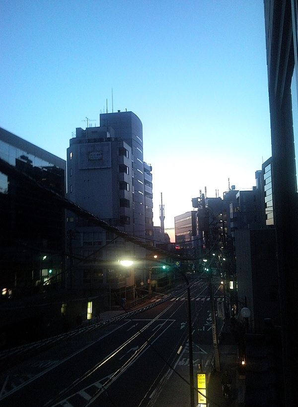 Tokyo Sunrise on the Day After