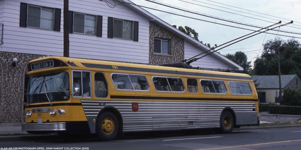 Hamilton Street Railway Bus 781 (1976)