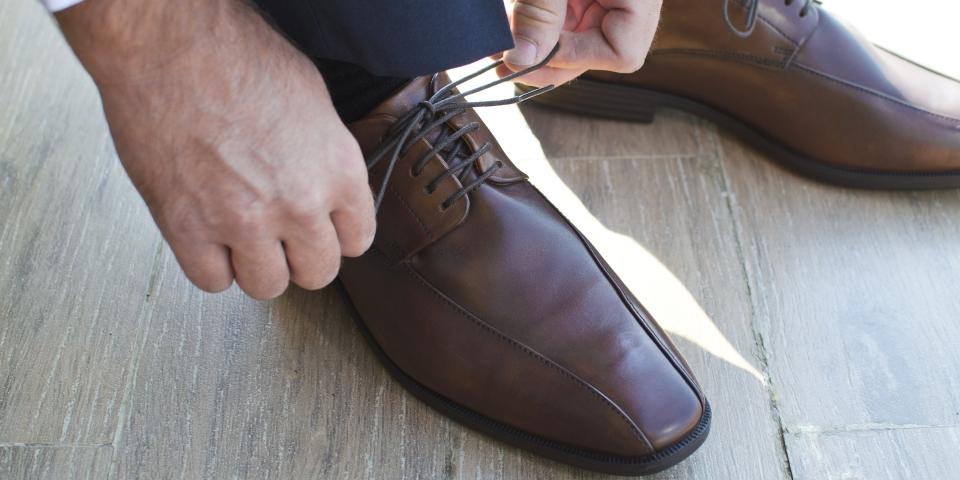 Wearing Nice Shoes
