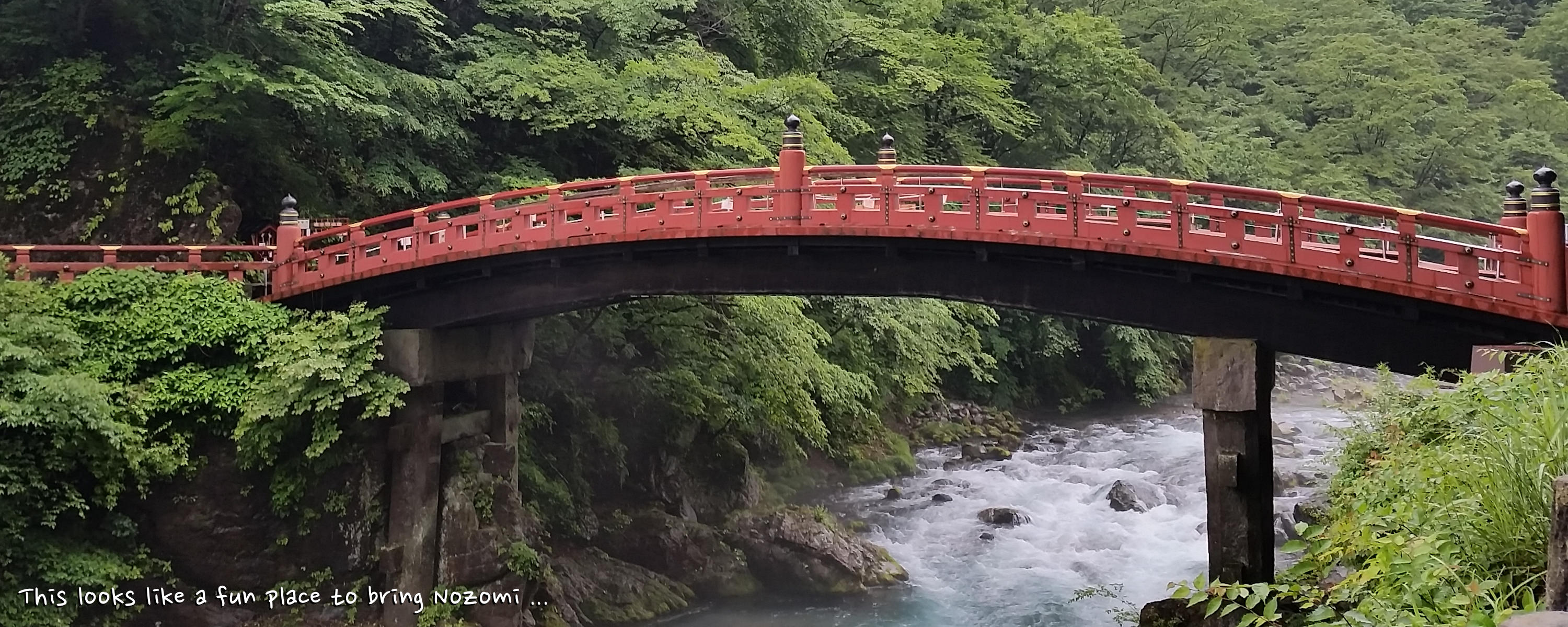 The Sacred Bridge in Nikko