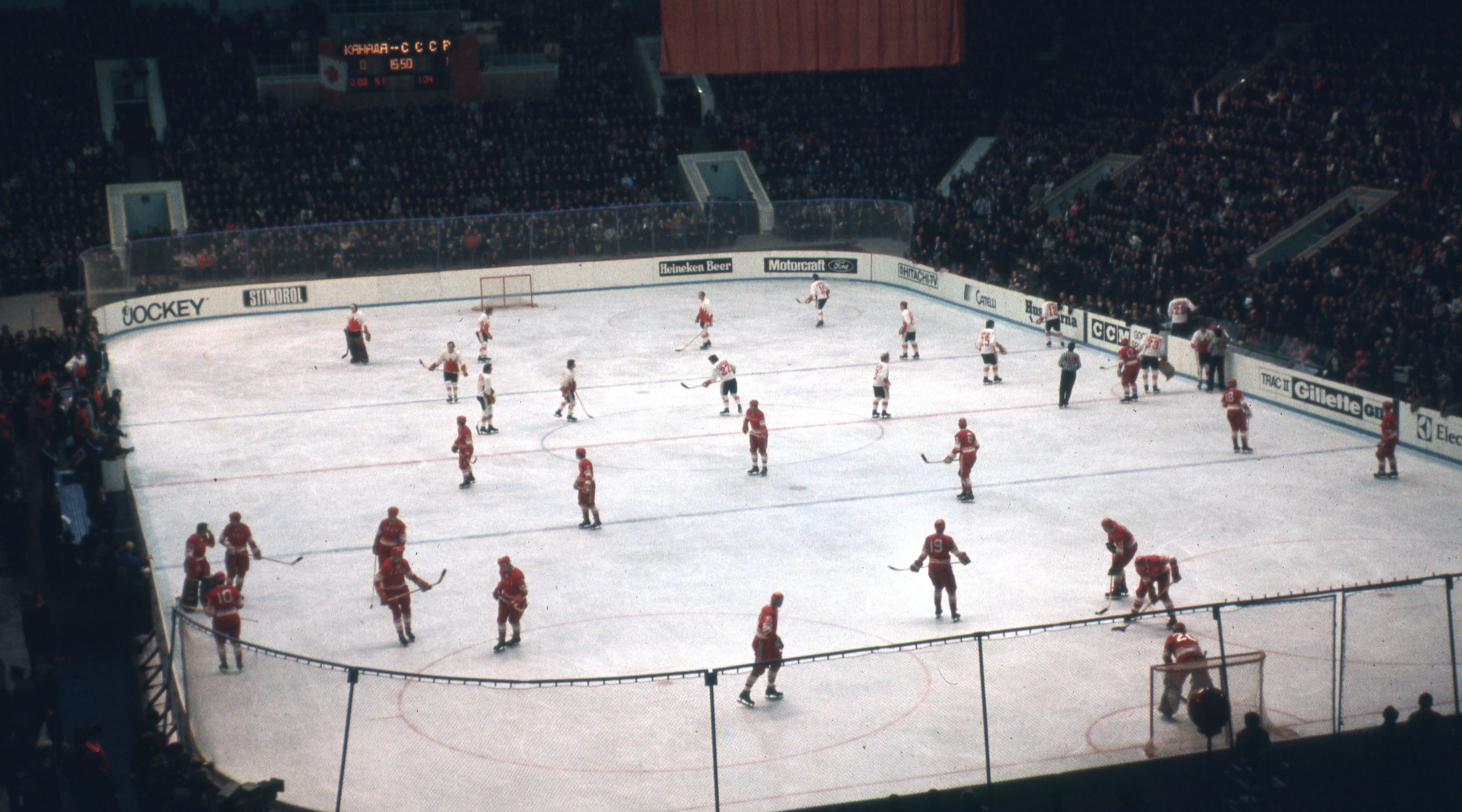 1972 Summit Series in Moscow