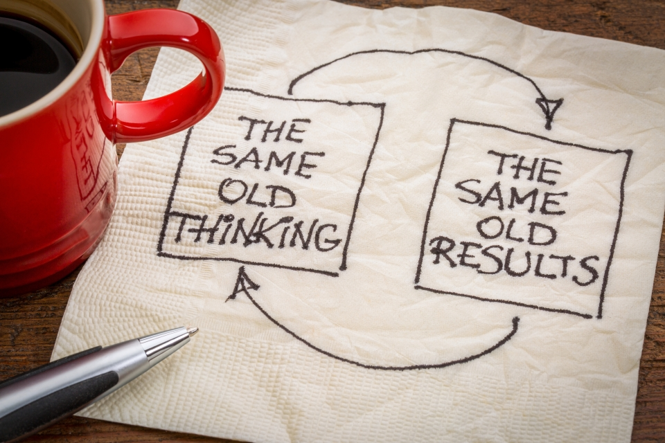 Same Old Thinking / Same Old Results