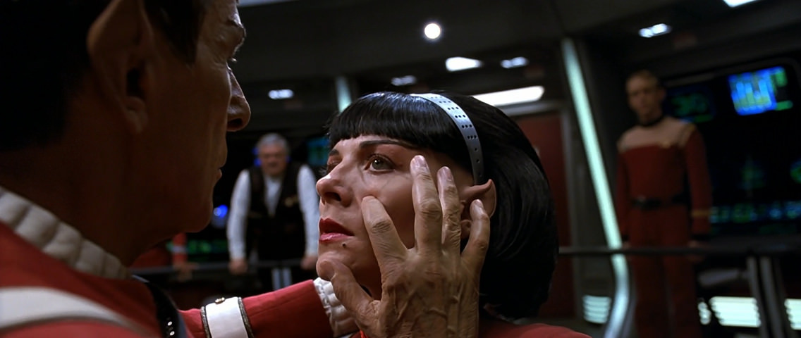 Spock Melds with Valeris