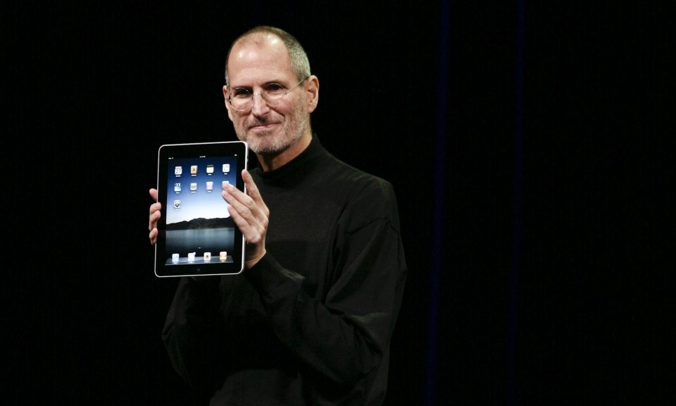 Steve Jobs and the First iPad