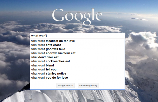 Google   What Won't Meatloaf Do For Love?