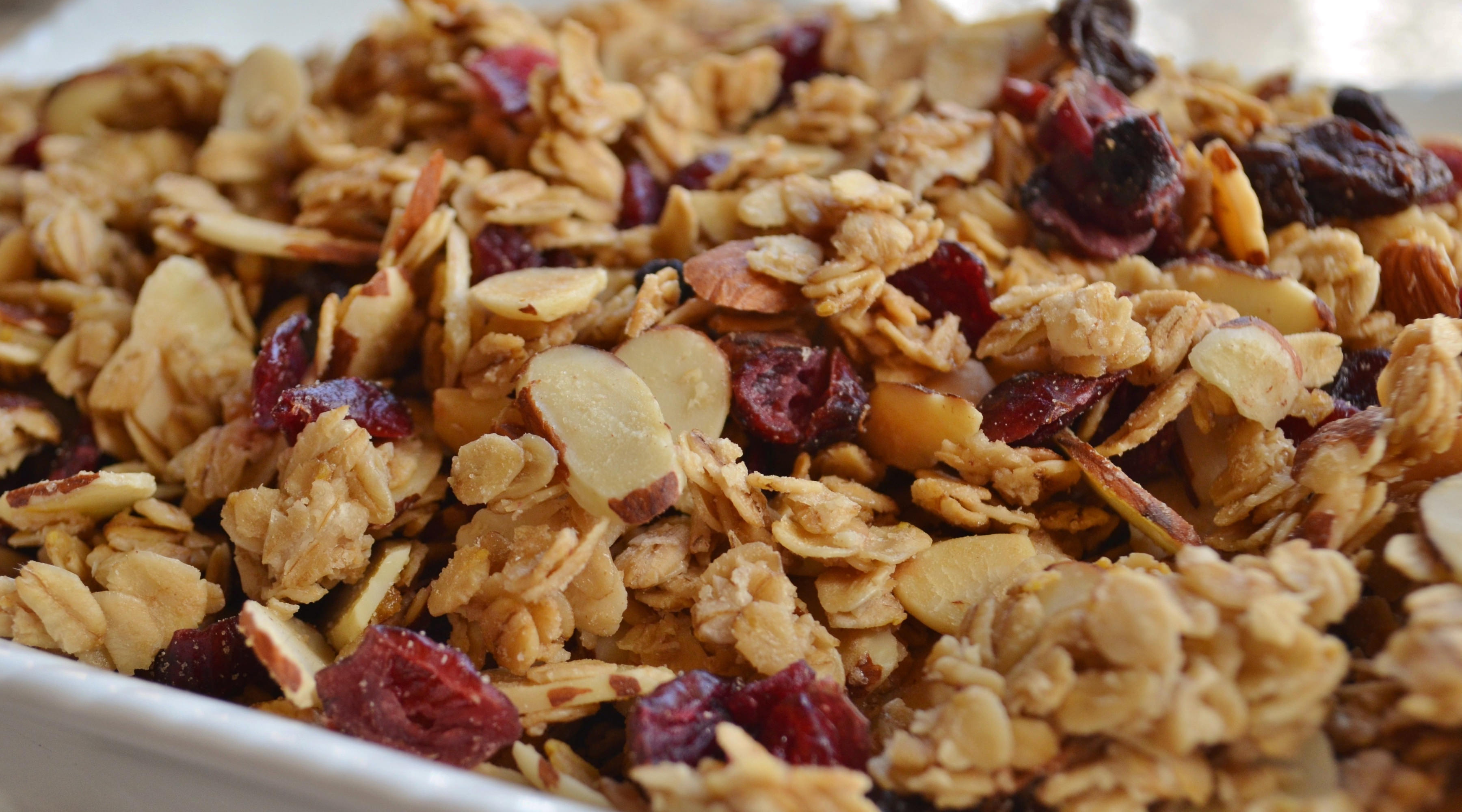 Yummy Granola Up Close