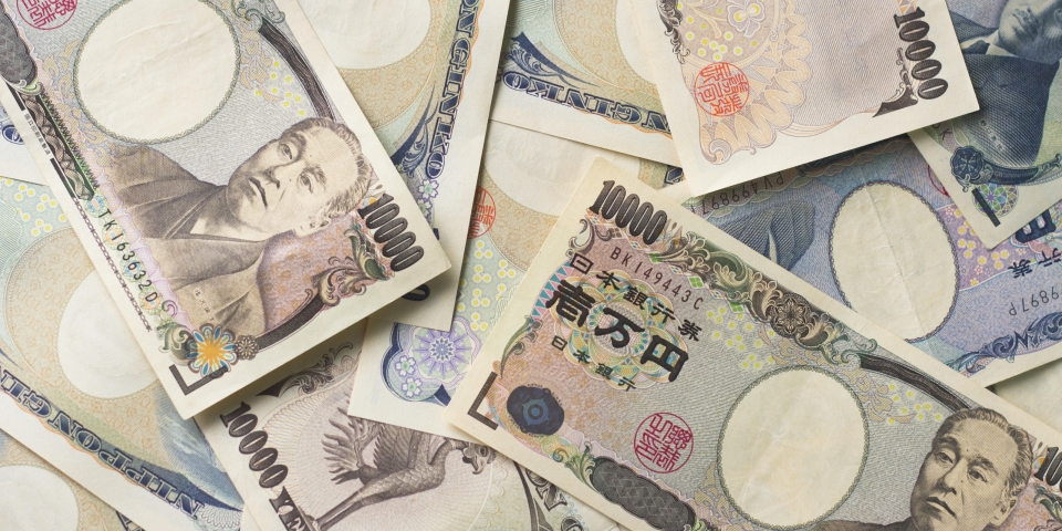 Japanese Money — Not From My Actual Paycheque