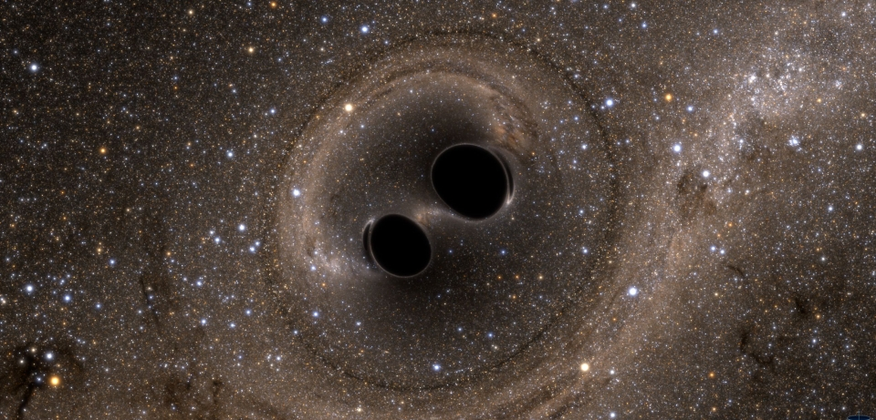 A Black Hole Merger