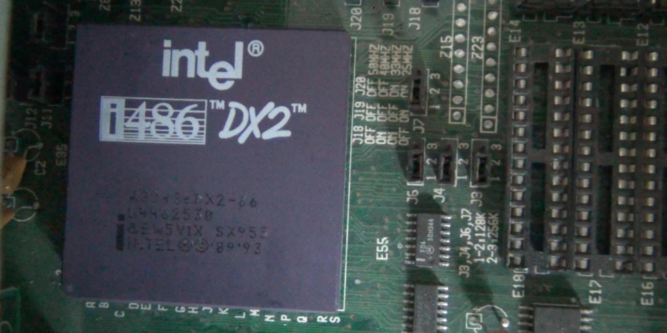 Intel's Legendary 486 DX2/66
