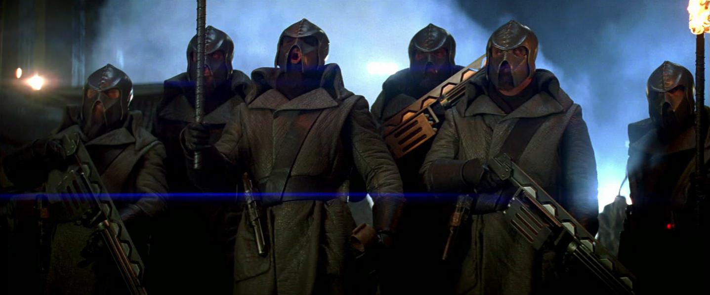 Klingons Defending Their Home World