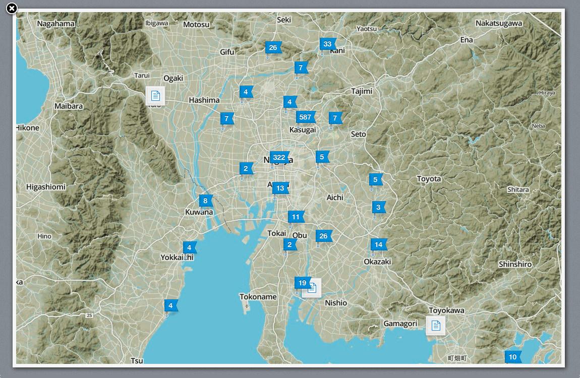 Evernotes Across Aichi