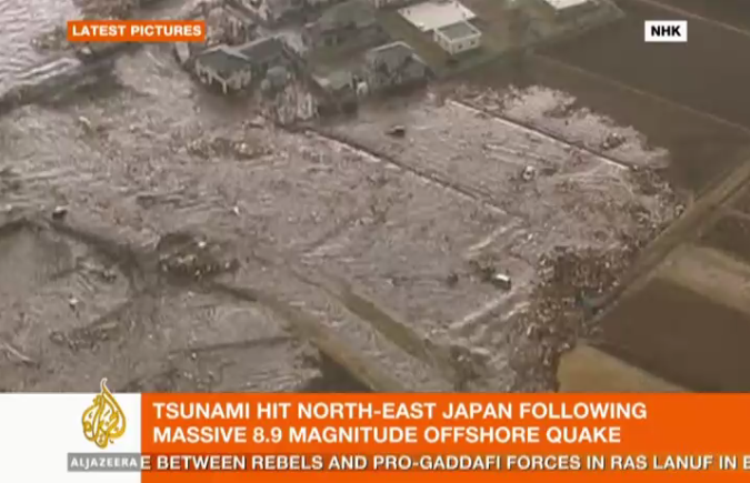 Tsunami in Sendai | Al Jazeera