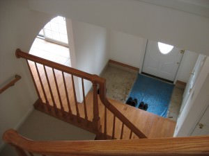 Millcreek House | Interior (The Entrance Hall From Upstairs)