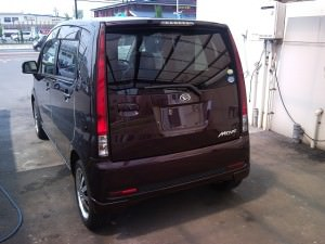 Daihatsu Move -- Passenger Rear