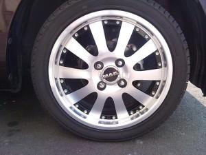 Daihatsu Move -- Special Edition Rims