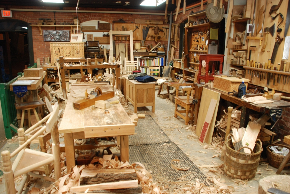 Wood-working Shop