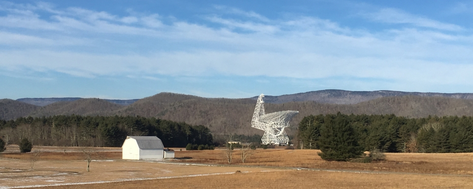 The Green Bank Observatory in West Virginia