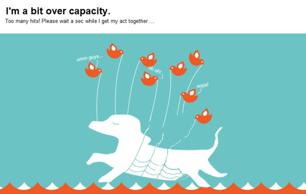 I'm Over Capacity!