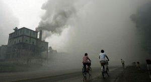 Pollution Outside a Chinese Factory
