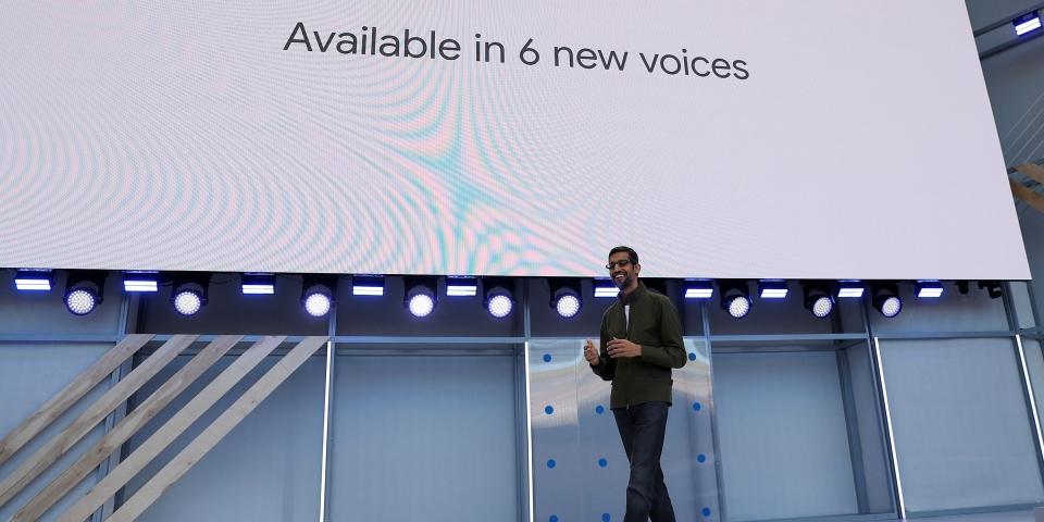 Google CEO, Sundar Pichai