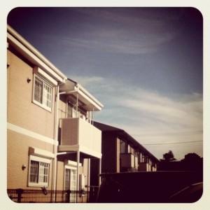 Blue Skies Over Kashiwa (Instagram)