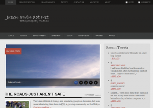 Another New Site Design for j2fi.net