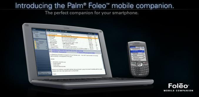 Palm' Foleo Mobile Companion
