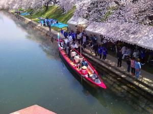 Taking a Boat Ride Along the Sakai River