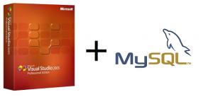 Visual Studio & MySQL