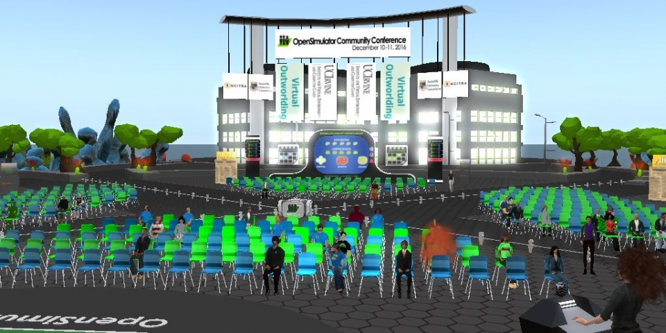 Early session at the OpenSim Community Conference 2016